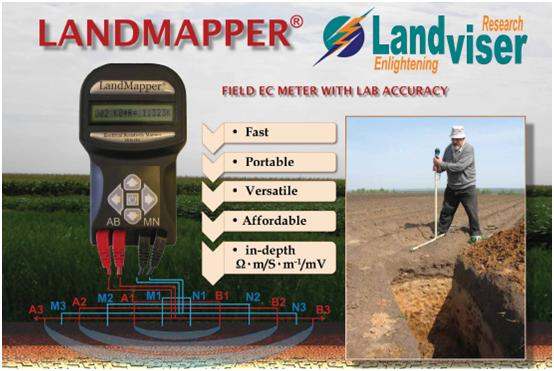 LandMapper -  field EC meter with lab accuracy