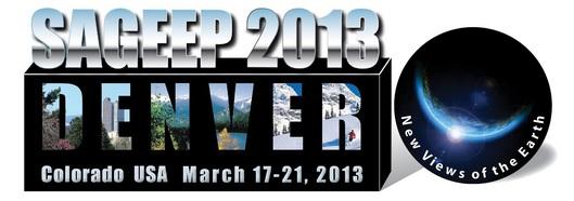 SAGEEP 2013 logo