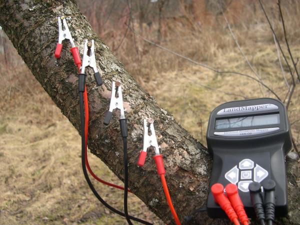 измерение сопротивления древесины ЛандМэппер
